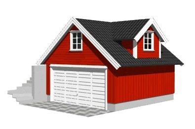 Bygge isolert rom i garasje